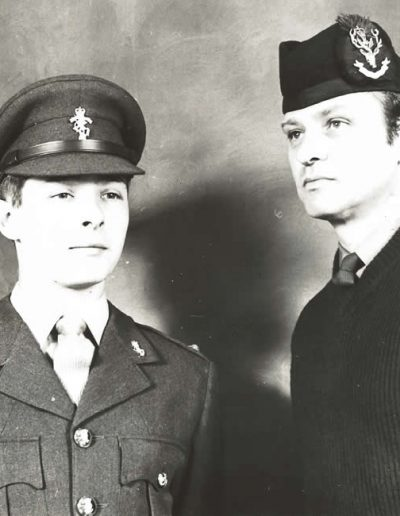 P134- 2Lt Ponting and CSgt Ponting