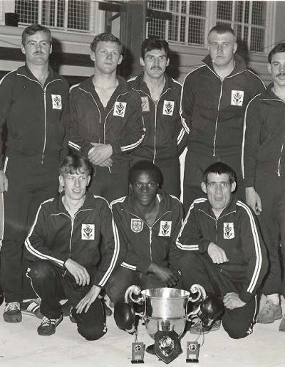P142 - HQ Coy Boxing Team