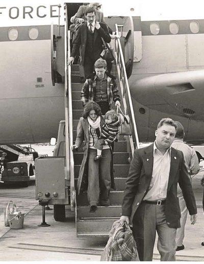 VC 10 Arrivals