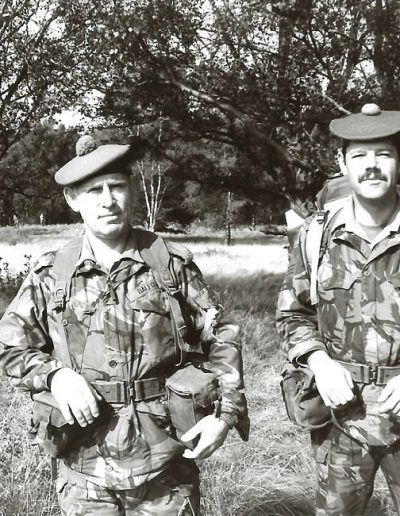 2- 51 Highland The 2 Roddys - Maj Balfour and WO2 Sutherland - P 198