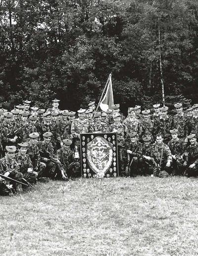2- P 174 - D Coy -CFRM Winners 1989