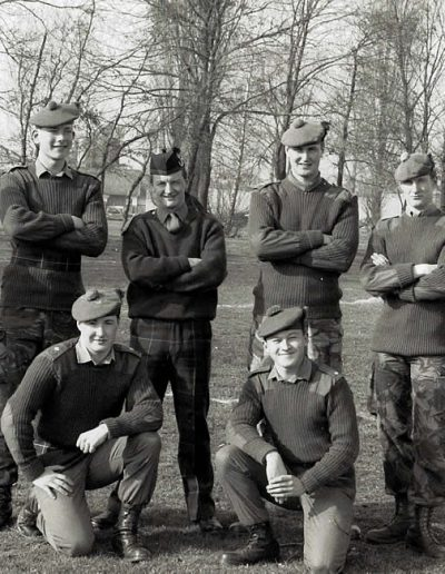B Coy Officers