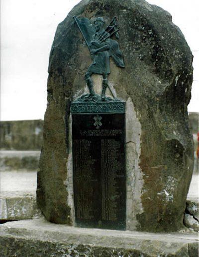 Camerons Memorial Kohima