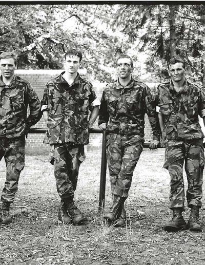 P 177 - D Coy - Assault Course winners