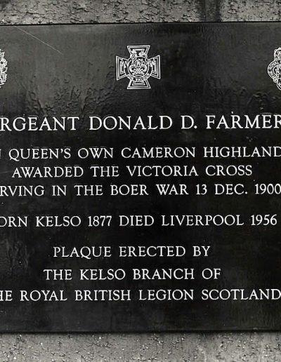 Lt Col DD Farmer VC-a