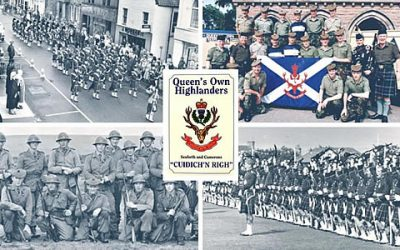 Gone but not forgotten- celebrating 60 years of the Queen's Own Highlanders